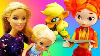 Сборник видео скуклами для девочек— Барби, Пони, Сказочный Патруль— Все серии подряд