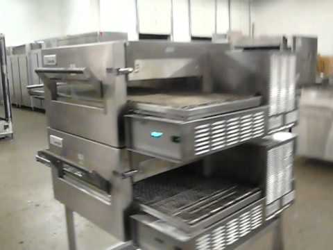 conveyor used pizza oven htm impinger lincoln ii a electric p