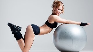 Упражнения С Мячом Коррекция Ягодиц(Упражнения с мячом, коррекция ягодиц. Фитнес упражнения с мячом повышают эффективность фитнес тренировок,..., 2015-12-15T07:44:59.000Z)