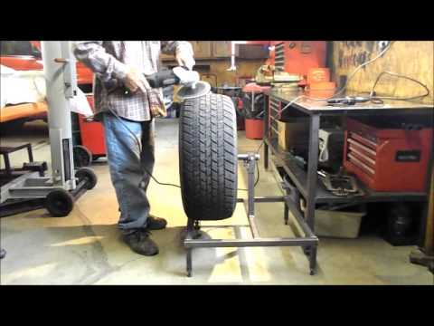 Bivins Built Tire Prep Stand Youtube