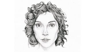 St. Vincent portrait drawing - Joe Rocky Holey HD 720p