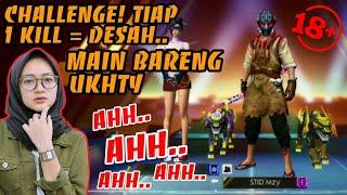 Download lagu BIKIN UKHTY DESAH SAMPE BOOYAH!! 1 KILL = DESAH.. BOCIL DILARANG NONTON!!!