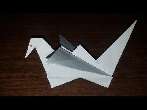 Жаворонок оригами