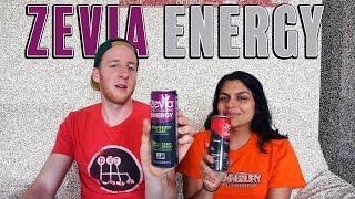 Zevia Energy Drinks Review | Taste Test | Zevia Soda