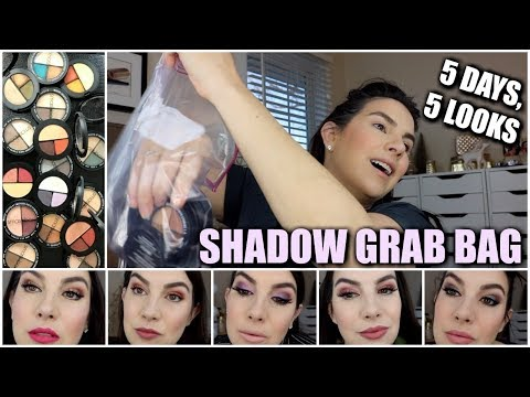 GRAB BAG LOOKS & REVIEWS | NEW Smashbox Trios