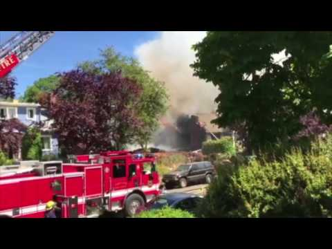 Explosion and fire at North Portland home
