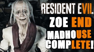Resident Evil 7 MADHOUSE Difficulty FULL PLAYTHROUGH ~ Zoe Ending (On Stream)
