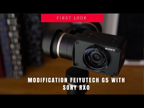 Modification Feiyutech G5 With Sony RX0
