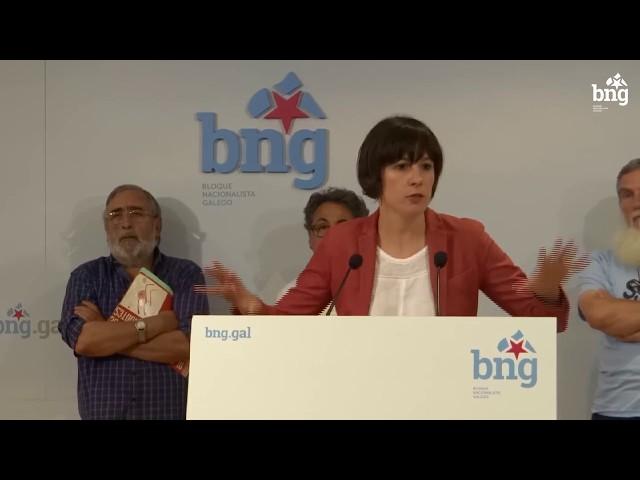"""Ana Pontón """"É necesario un xiro de 180 grados da política forestal de Galiza que está fortemente condicionada polos intereses de ENCE"""""""
