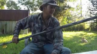 DIY $20 Push Pole