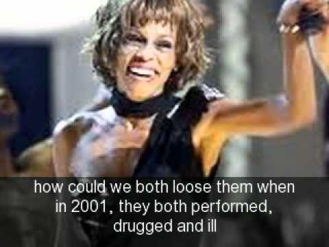 Whitney Houston, Michael Jackson; CRACK KILLS - YouTube