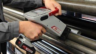 Handmarkiersystem FlyMarker® mini/ Hand-held marking system FlyMarker® mini