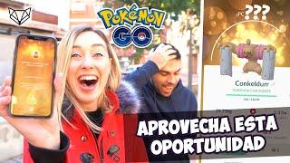 NO IMPORTA COMO PERO CONSIGUE A CONKELDURR YA ¡ES GENIAL! - Pokémon Go [Neludia]