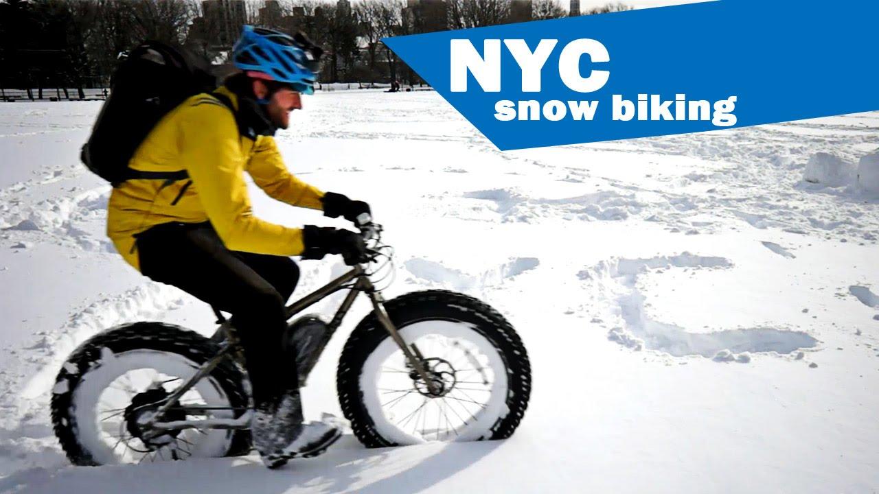 Snow Biking NYC Video