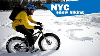 Snow Biking NYC Video!
