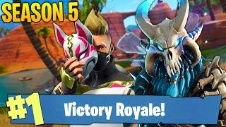 LIVESTREAM #651 FORTNITE ! SEASON 5 ! NOVO BATTLE PASS :D BIG UPDATE 🏆 414 WINS
