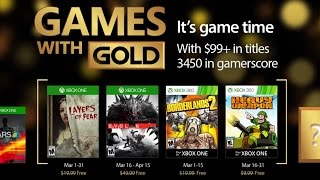 Xbox Games with Gold (March 2017) Trailer
