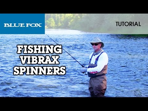 Blue Fox® Classic Vibrax™ Spinners: HOW TO FISH