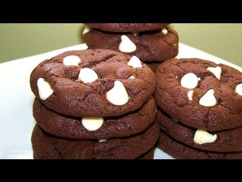 Gluten Free Nutella Cookies With White Chocolate Chips