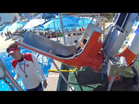 Cannonball Water Slide at The Ocean Waterpark