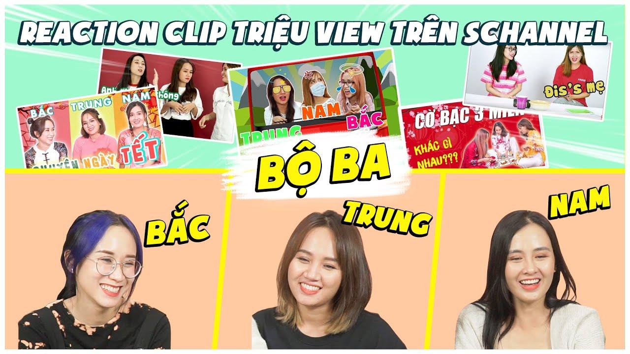 Cùng Hương Witch- Châu Giang reaction clip   Bắc-Trung-Nam triệu view trên Schannel