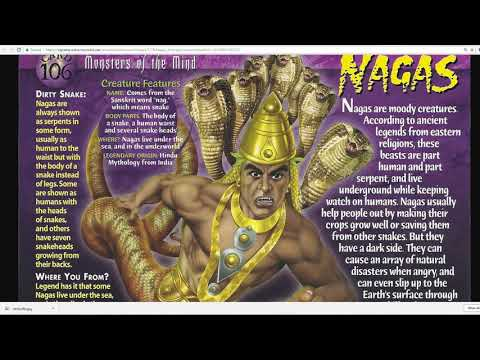 Global Evidence For a Race Of Serpent-Reptilian Beings-Nagas
