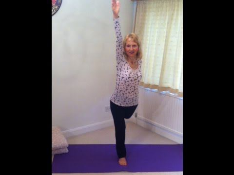 Yoga for anxiety - releasing fear- http://flexiladies.blogspot.co.uk/