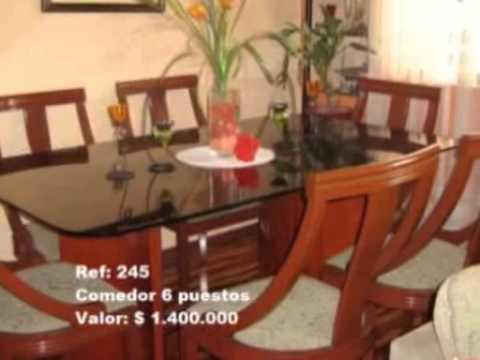 Dise os de alcobas salas y comedores muebles rdb youtube for Comedores elegantes