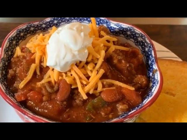 Delicious Chili Recipe Youtube