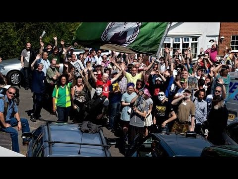 The Eviction Fraud of the Bank meeting - Nottingham April 2015 [Part 1]