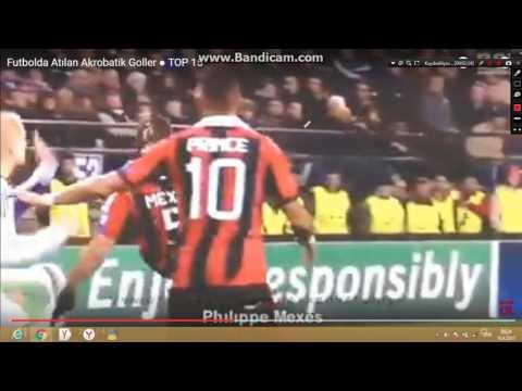 futbolda atılan akrobatik goller (şaşırdım lan)