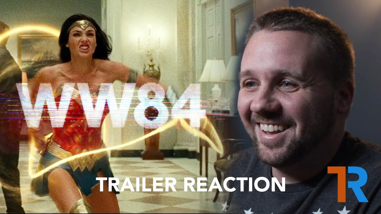Wonder Woman 1984 Trailer | REACTION