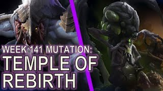 Starcraft II: Temple of Rebirth [Double Life Mutalisks]