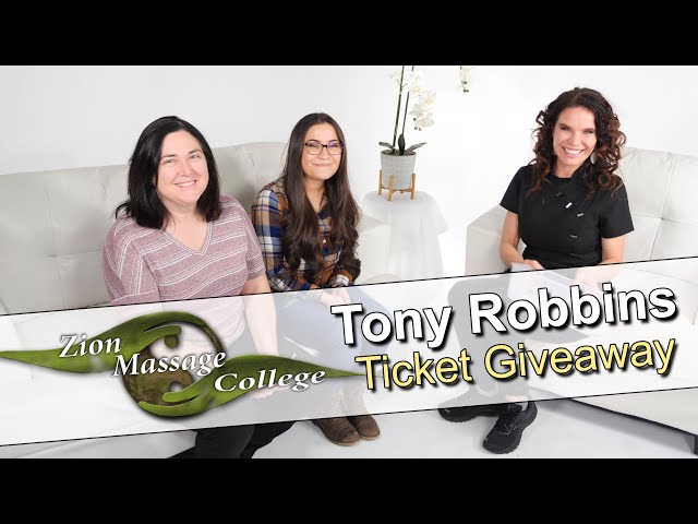 Tony Robbins Unleash the Power Within Giveaway
