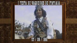 I Festa de Vaqueiros e Fazendeiros de Itatiaia - 1991