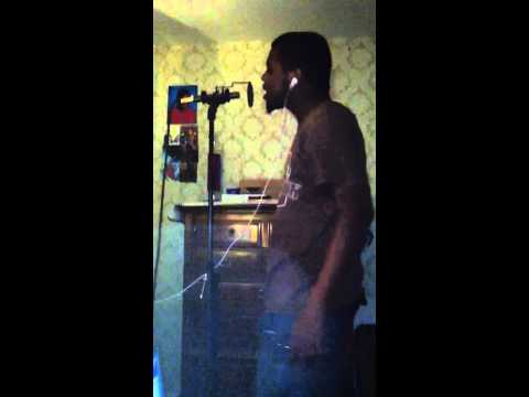 Kingron making a hook on a song