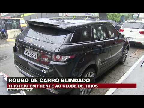 SP: Bandidos Roubam Carro Em Frente A Clube De Tiros