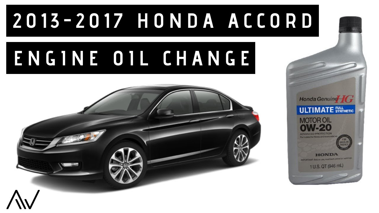 Hondaaccord Oilchange Diy