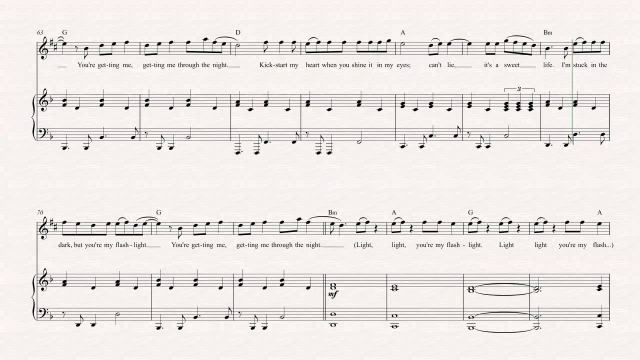 Alto Sax - Flashlight - Jessie J - Sheet Music, Chords, u0026 Vocals - YouTube