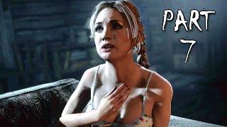 Until Dawn Walkthrough Gameplay Part 7 - Romance (PS4)