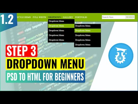 psd-to-html-for-beginners-|-dropdown-menu-|-part-1.2