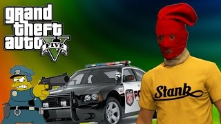 CAUSING A RUCKUS, INSPIRATIONAL MAN CAVE! | GTA V FUNNY MOMENTS :D