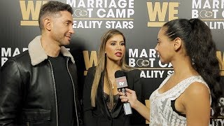 "Asifa Mirza and Bobby Panahi Interview ""Marriage Boot Camp: Reality Stars"" Season 9 Premiere"