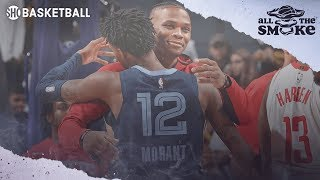 Ja Morant Speaks About Russell Westbrook Comparisons And His NBA Role Models | ALL THE SMOKE