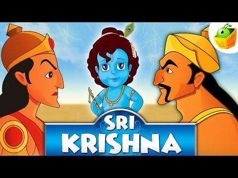 Sri Krishna   Full Movie (HD)   Animated Movie   English Stories For Kids