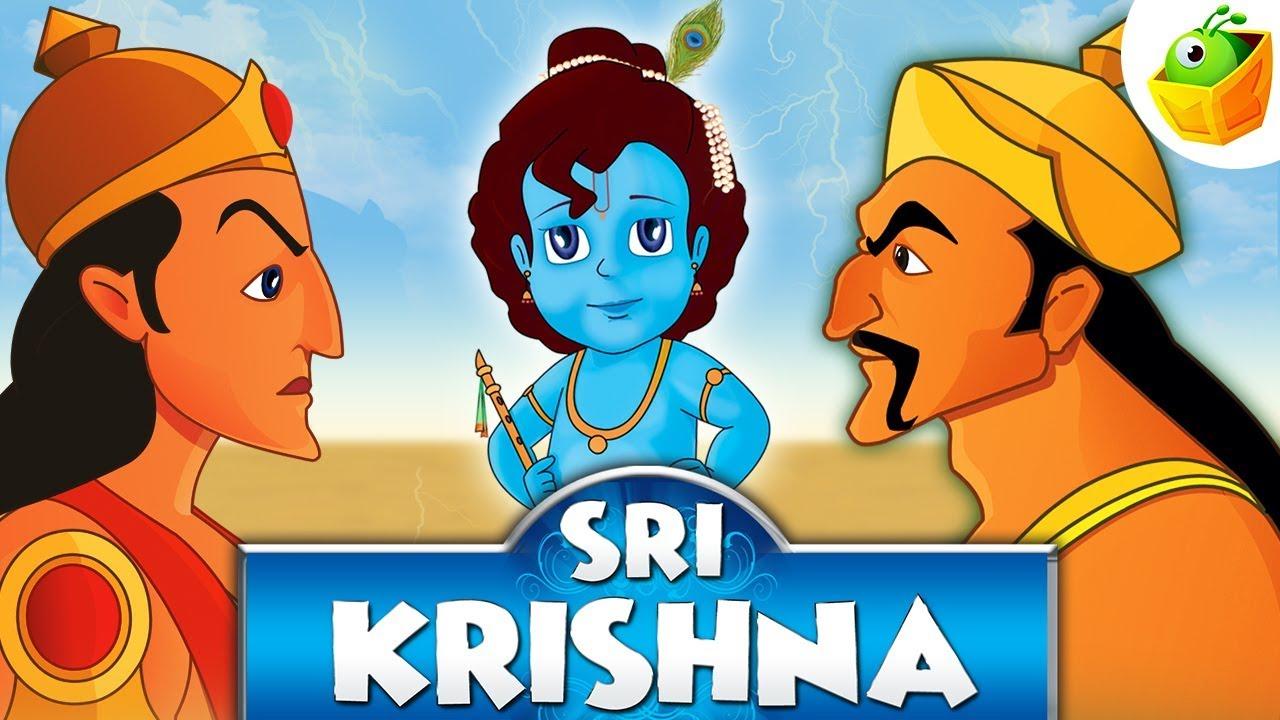 Shri Krishna Cartoon Image | lairfan org