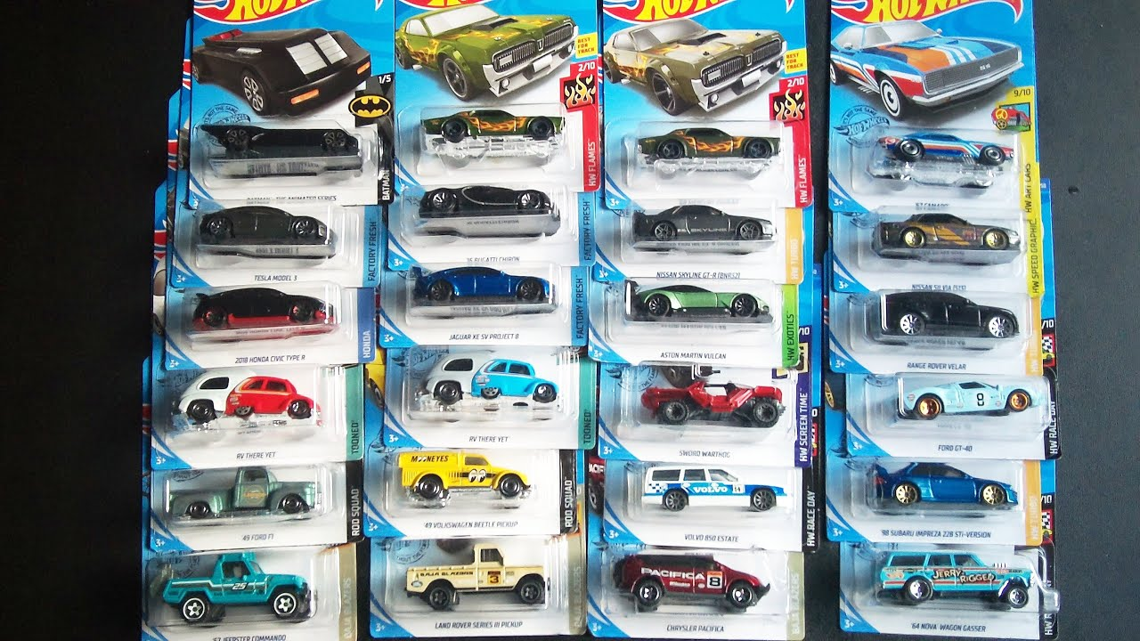 Memorial Day Quarantine Haul: New Hot Wheels Diecast Cars Pickups