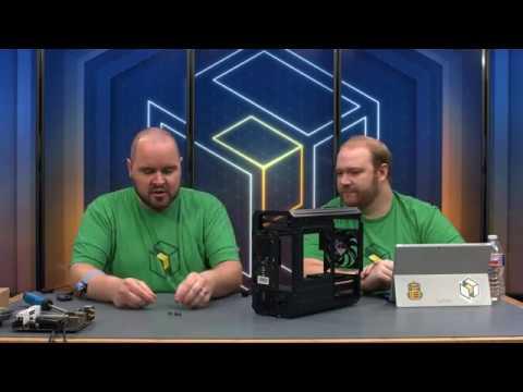BitFenix Portal mITX Build - MSI Z270 / i7-7700K / GTX 1080 Ti (Livestream Archive)