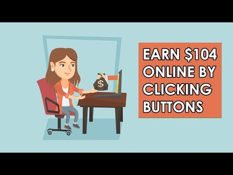 Earn $104 A Day Online Just Clicking Buttons (Worldwide)