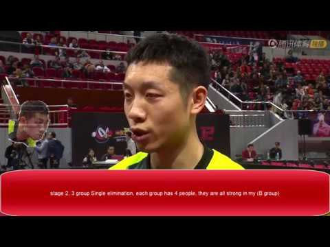 [TT China] Dirty Dozen Stage2, Xu xin Fang bo (English Interview) (edit)Marvellous12